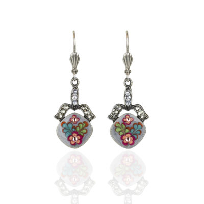 Fiona 'Jill's Garden' Flower Earrings
