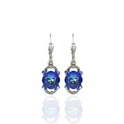 Royal Blue DeLite Cushion Earrings