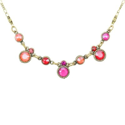 Sienna Peony Pink Necklace
