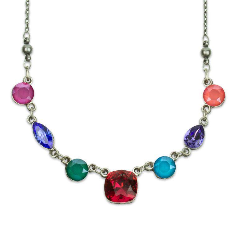 Madison Multicolor Swarovski Necklace