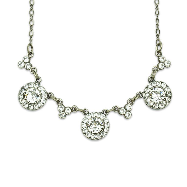 Ella Swarovski Crystal Necklace