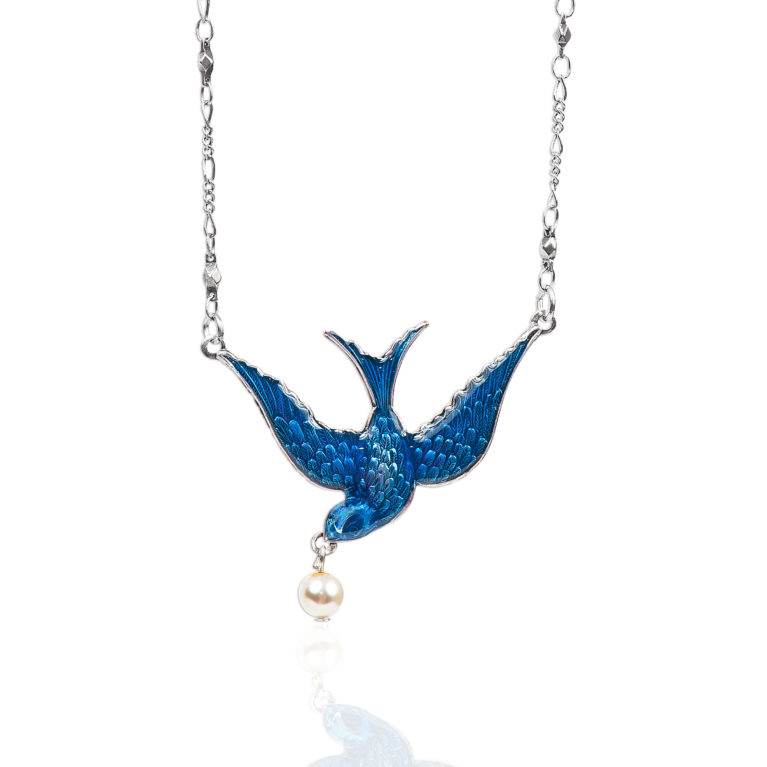 Bluebird of Happiness Necklace