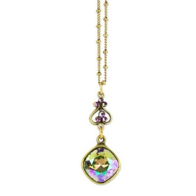 Endellion Paradise Shine Pendant by Anne Koplik Designs jewelry, handcrafted brass necklaces made in Brewster NY