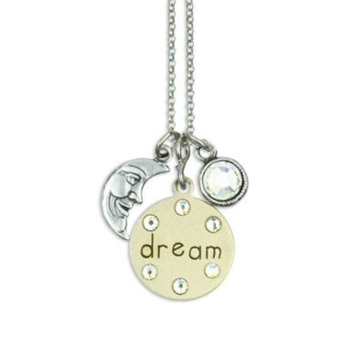 Inspirational Dream Jumble Necklace by Anne Koplik Designs jewelry, handcrafted silver necklaces made in Brewster NY