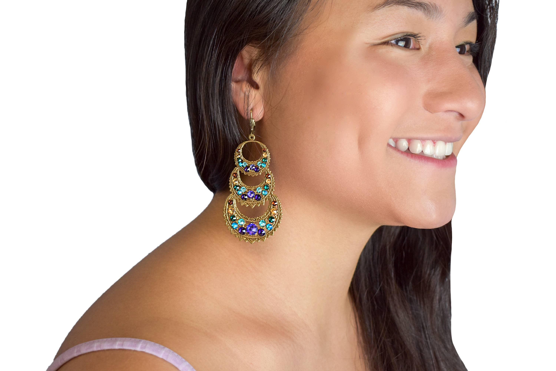 Rena  Crystal Earrings