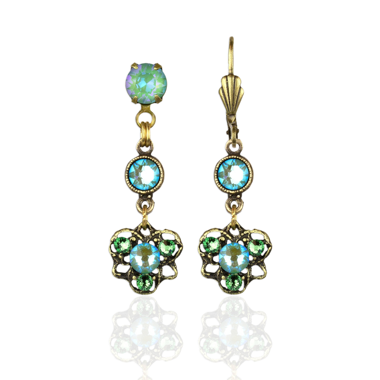 Ophelia  Crystal Earrings