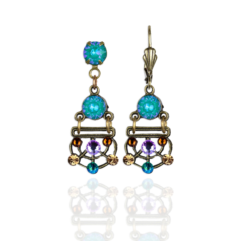 Zeldaphine Crystal Earrings