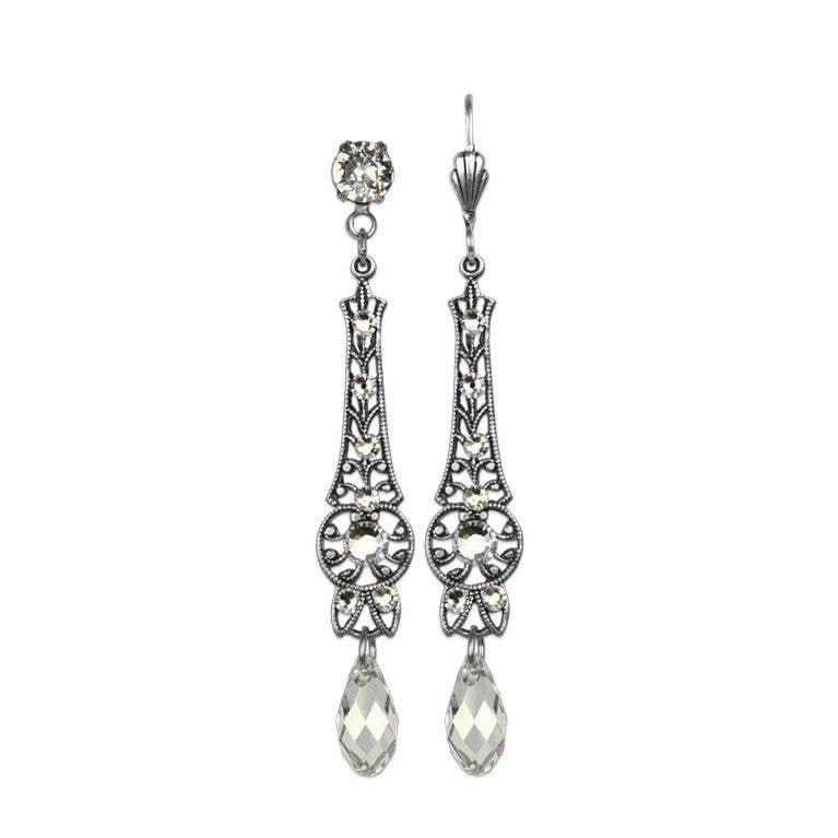 Ida Ada Crystal Earrings
