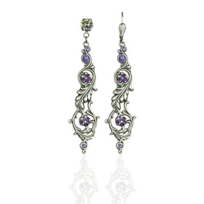 Dominique Crystal Earrings