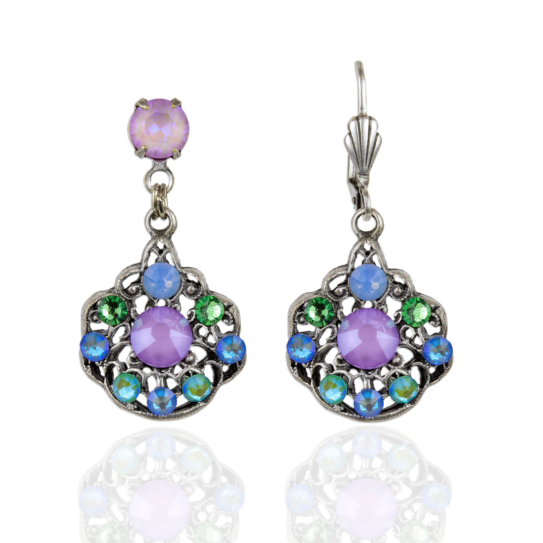 Letizia  Crystal Earrings