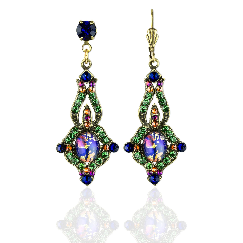 Vallie Stanway  Crystal Earrings